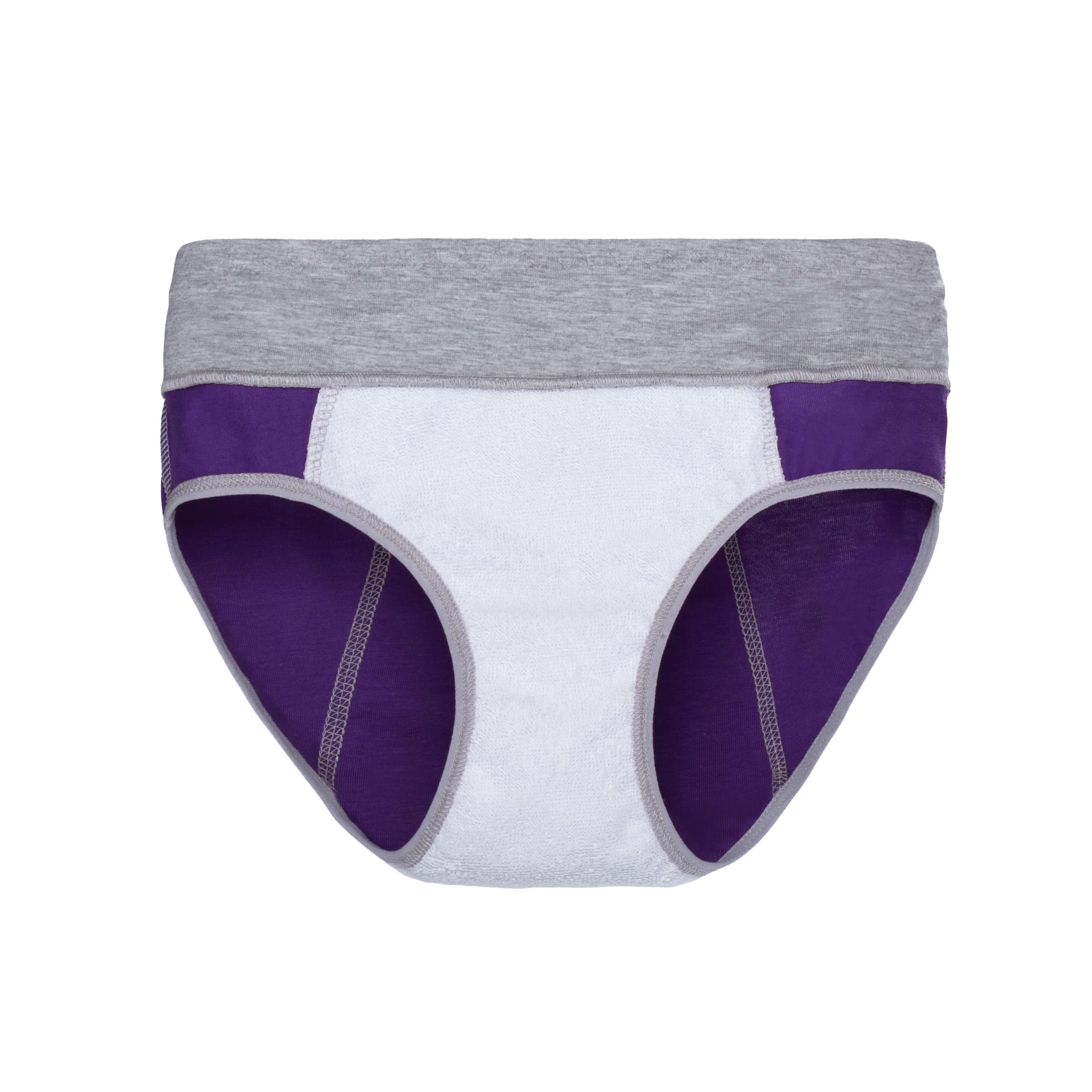 Спорт+ трусики фіолетові з захисною подовженою ластовицею - Фото 2